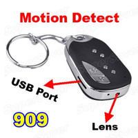 Wholesale 30FPS Mini DVR Spy Car KeyChain Car Key Chain Camera With Motion Detector Covert Recorder
