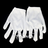 Wholesale White gloves Ghost step dance Hip hop Cotton Clean