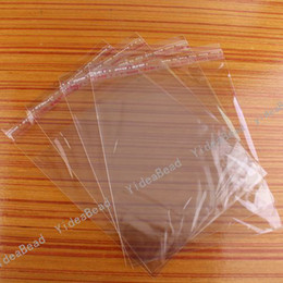 Wholesale 600pcs Clear Self Adhesive Seal Plastic Bags x14cm