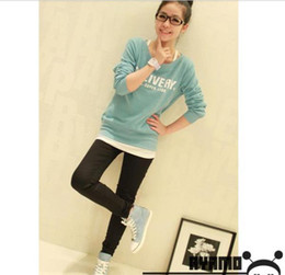 Wholesale 2012 New women s dress all match fashion round collar printing letter long sleeve fleeces