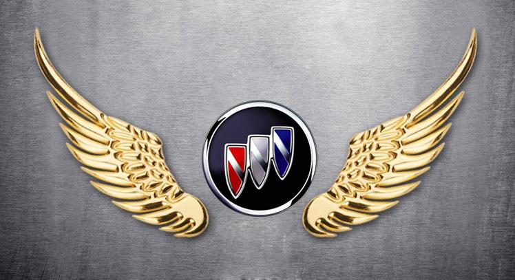 Metal 3D Eagle Wings Style  Eagle Wings Car Logo