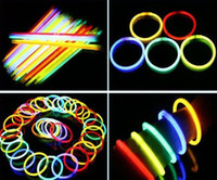Wholesale 20CM light sticks fluorescent bracelets night glow sticks light sticks free via DHL