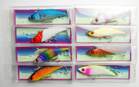 Wholesale 2012 fishing lures Minnow hard plastic lures mm CM G fishing lures colors two hooks