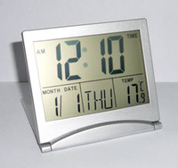 Wholesale Digital LCD Alarm Desk Clock Calendar Thermometer