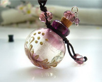Asian & East Indian bottle necklace - Aroma bottle Mini vials perfume necklace Aroma bottle necklace pendant fragrance pen