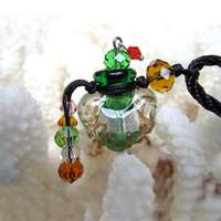 Women's bottle necklace - Scent botttle pendant Perfume bottle necklace Aroma pendant vial Perfume vials