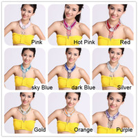 New Fashion Belly Dance Necklace Belly Dance Accessory 6pcs ...