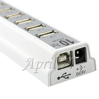 Wholesale High Speed Ports USB Hub USB cable for Laptop PC Tablet With LED Indicator USB