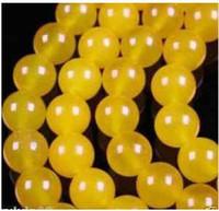 Wholesale 6mm Rare Yellow South America Topaz Loose Bead AAA