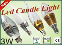 3W amazing candles - New Amazing High Powerful LED Lamp Bulb VAC E14 E27 W Candle Light Bulbs Sweetqueen