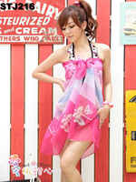 Women's Sarong Beach Scarf Cover Up Miss Swimwear Pink Pareo...