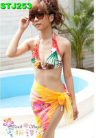 Women's Beach Scarf Sarong Cover Up Miss Swimwear Pareo Dres...