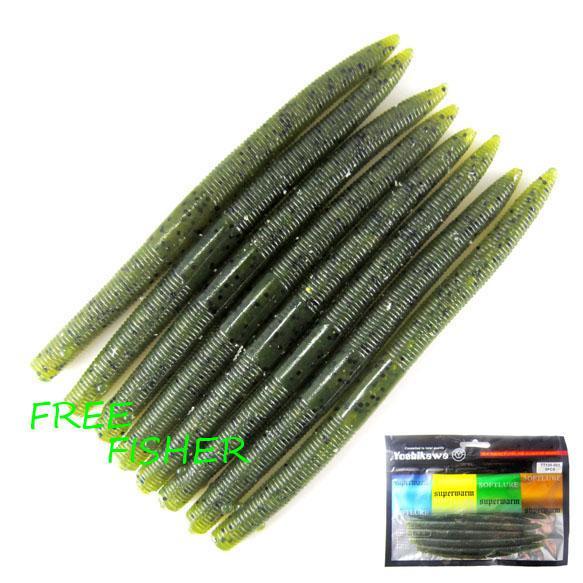 small fishing soft plastic worm lure bass s20 electronic fishing, Soft Baits