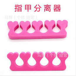 Wholesale cotton sponge device device to separate fingers