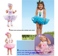 Wholesale Baby girls dress kids children ice cream flower vest sleeveless girls dress B why