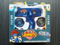 Wholesale Metal Fusion Beyblades from china launch Tops at once gyro Set kids toys