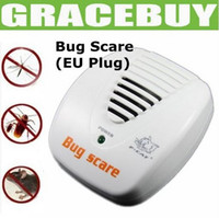 Wholesale EU Plug Smart Bug Scare Ultrasonic Electrical Mouse Rat Pest Repeller Gadgets Hour Protection