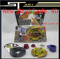 Wholesale brand New hot Beyblade D metal fusion spinning top spin toy Steel fighting spirit beyblades