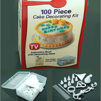 Wholesale Piece Cake Decorating Frosting Icing Decorating With Storage Box DIY Kit Set