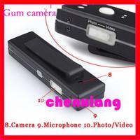 Wholesale 10pcs Mini DV Vdieo Chewing Gum Hidden Camera Video Recorder Web Cam with Clip fps