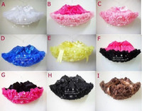 Wholesale New Baby girl tutu Pettiskirt Petti Skirts Party skirt summer outfit holiday dress size