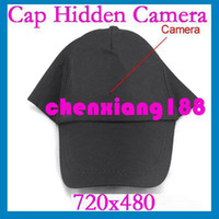Wholesale New Multi function Cap Camera With Remote Control Built in GB Hidden Camera