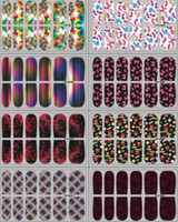 art patch - Easy to Use Nail Manicure polish Art Strips Patches Stickers styles set Nail sticker