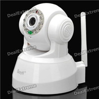 Wholesale EasyN Wireless IP Camera S63 white IR WIFI Audio Night View M LED CMOS pixel