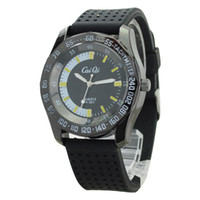 Wholesale Dropshipping Watches Cheap Men Watches Silicone Band Yellow Scale Quaretz Movement Watch