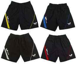Wholesale butterfly Men s table tennis sportswear shorts ping pong shorts AW103