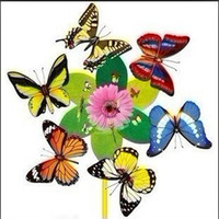 Wholesale 1000pcs Butterfly fridge magnet Simulation butterfly refrigerator magnet Children s toys