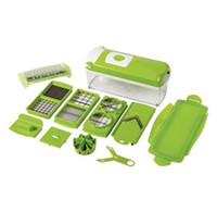 Wholesale Multi Chopper Fruit Slicer Vegetable Salad Grater Nicer Dicer Plus piece