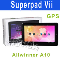 10 android 4.0 tablet - Superpad Inch yoyo Android GPS Tablet pc Allwinner A10 Ghz HDMI USB G GPS Flytouch