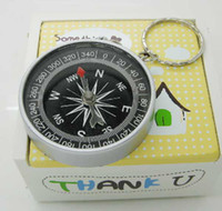 mini compass - 500pcs mini compass compass pocket High accuracy and stability American compass keychain compass