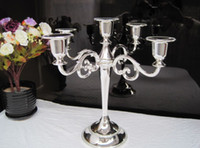 Wholesale new Candle Holder Classic Five Candelabra Wedding party favor Candle Holder