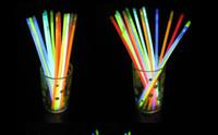 Wholesale 2012 new quot Multi Color Hot Glow Stick Bracelet Necklaces Neon Party Bright Colorful Fun