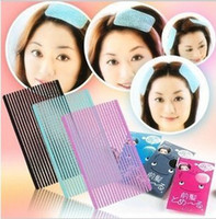 Wholesale Bangs magic paste posts Hair rope sticker clip elastic hair band