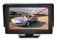 Wholesale 4 quot TFT LCD DVD VCR CCTV Reverse Camera Security Monitor For Car Rear View