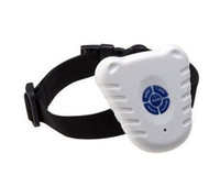 Wholesale Dog ultrasonic stop barking signoff bark collar dog training supplies pet product