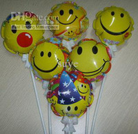 Wholesale Helium balloon for Birthday Party supplies smile balloon for christmas decoration kids toys
