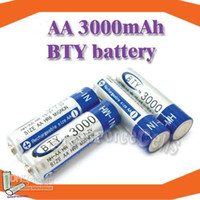 Wholesale 16pcs BTY AA mAh V Rechargeable Ni MH Battery hot selling DAC0048