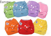 10pcs best cloth diaper cover - Europe Baby Diapers Diaper Inserts Best Quality Mix Clour In Stock