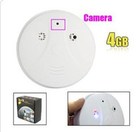 Wholesale 4GB Smoke Detector with MP Hidden Camera MP Remote Control
