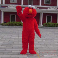 Wholesale China Halloween Sesame Street Elmo Monster Mascot Costume Fancy Dress