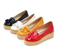 Wholesale S3329 Pretty Casual Women Fashion Lady Tassels Platform Shoes