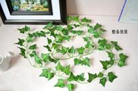 Wedding best wedding decor - BEST SELLING Artificial Hanging Boston ivy Garland Silk Flower Vine Wedding Home Garden Party Decor