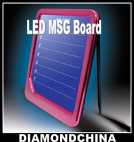 Wholesale Sample LED Message Board Electronic Display Writing Tablet Advertising From Diamondchina