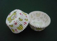 SGS Baking Cups Disposable 800pcs banana baby sweet heart cupcake liners baking paper cup muffin cases for party