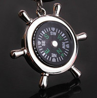 Wholesale car key rudder sailor compass