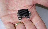 Wholesale Mini solar car World s smallest solar car Solar toys Novelty toys by EMS